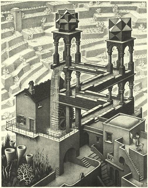 La Cascada Infinita de Escher